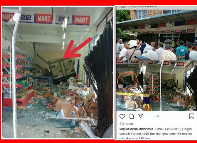 Minimarket 212 Mart Bikinan Demonstran Anti Ahok Hancur Lebur Usai Diseruduk Mobil Boks