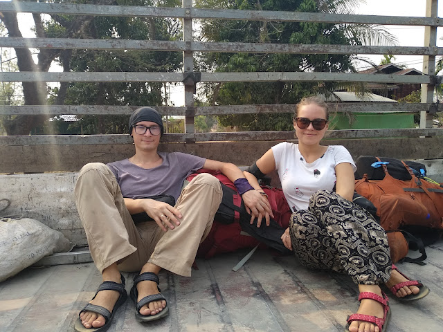 Mjanma, Birma, autostop