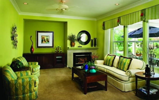 Bright colors. Residential, commercial