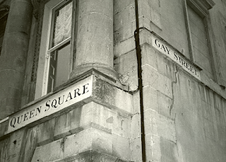 Queen Square Gay Street Bath England