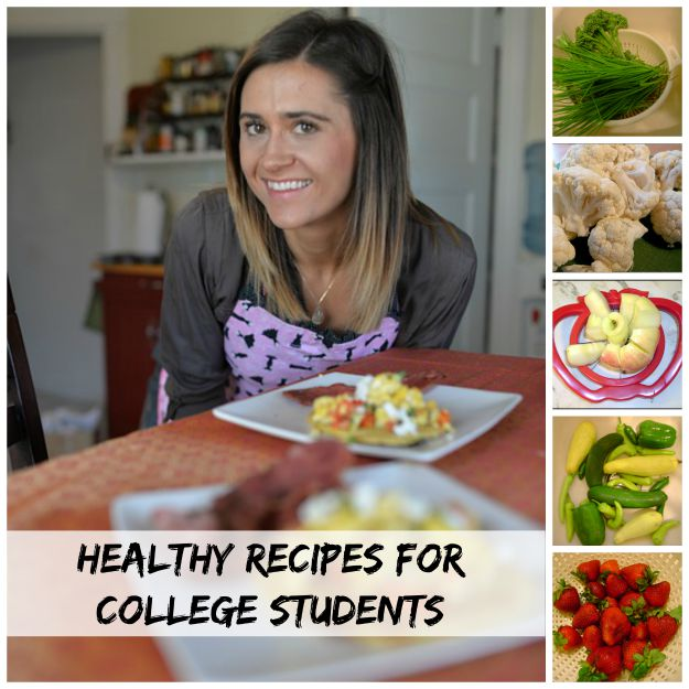 College Meals For Healthy Eaters #collegecooking #collegemeals