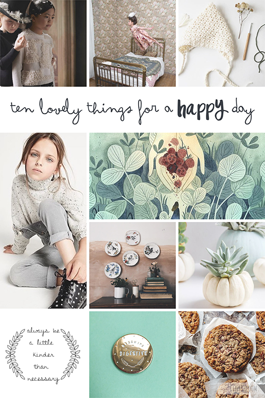 Ten lovely things that caught my eye this week.