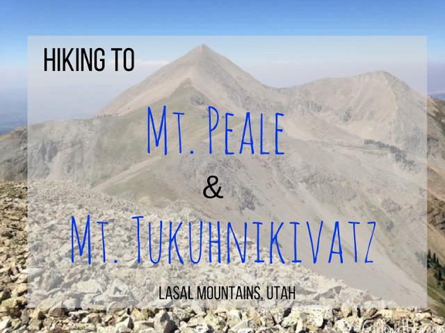 hiking to Mt. Peale & Tukuhnikivatz