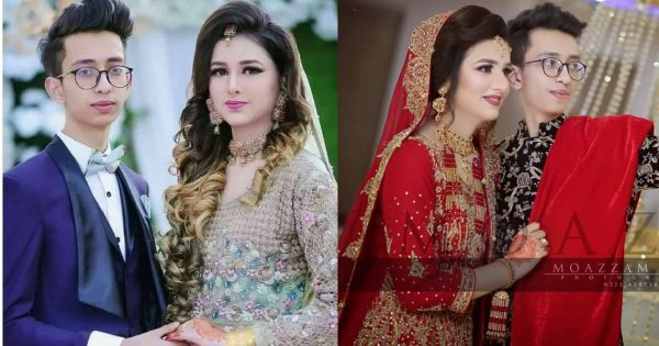 Pakistani 18 Years Old Couple Wedding Clicks Gone Viral
