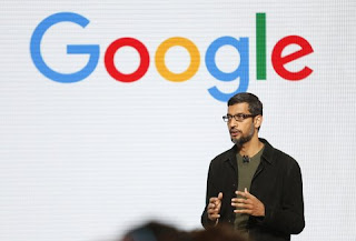 Google CEO Sundar Pichai also become CEO of parent company Alphabet