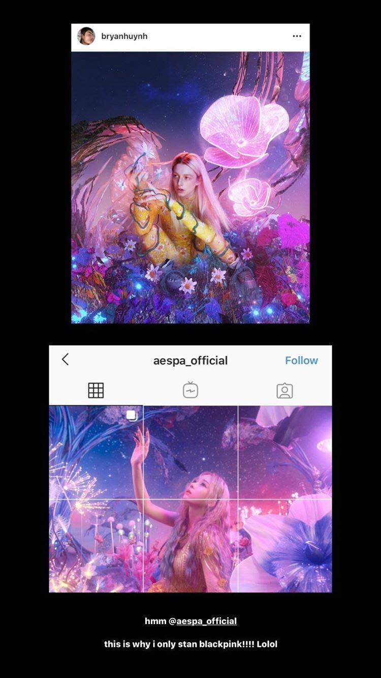This Photographer Accuses SM Entertainment of Tracing His Work on aespa's Teaser Photo