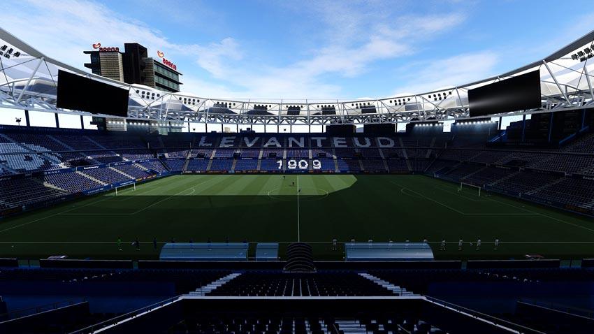 Stadium Ciutat de València For eFootball PES 2021