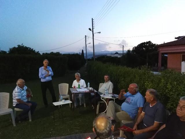Γ. Γκιόλας: Με αμείωτη ένταση συνεχίζονται οι επαφές των υποψηφίων του ΣΥΡΙΖΑ σε χωριά του Άργους