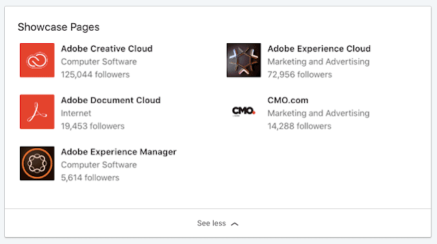 How Does LinkedIn Showcase Page Work?