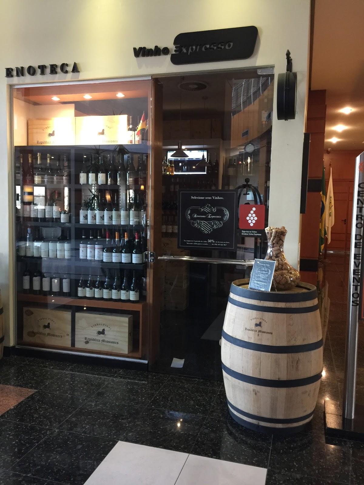 Loja de vinhos no Intercity Caxias do Sul