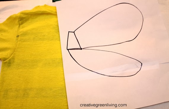 No-sew costume #creativegreenliving