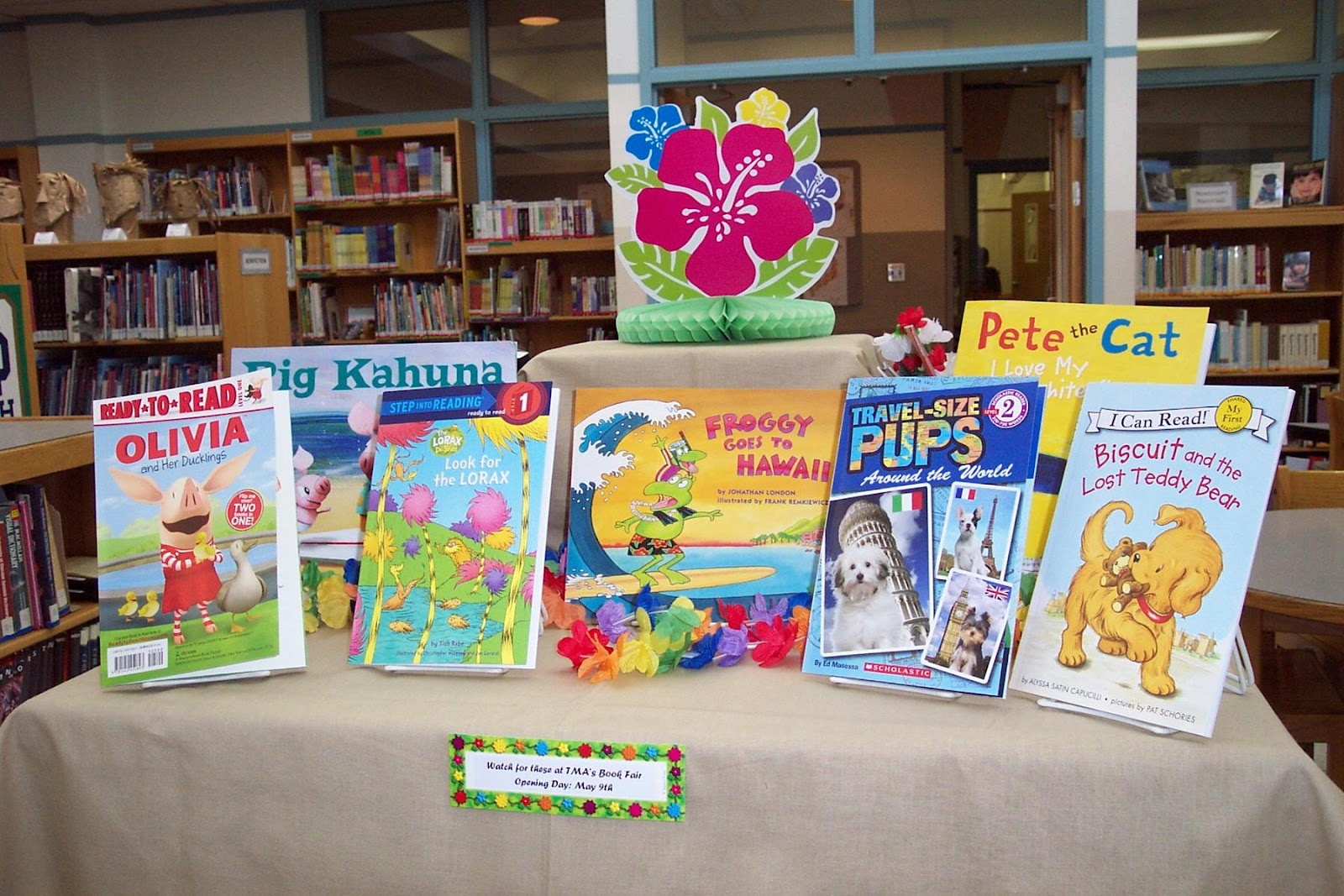 Tales From Toddlers Book Fair Luau