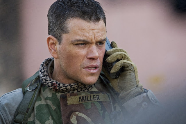Filme: Zona Verde / Personagem: Roy Miller (Matt Damon)