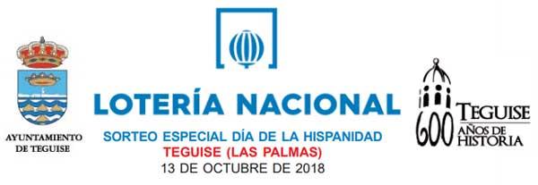 Loteria nacional sábado 13 de octubre de 2018 - Sorteo especial día de la Hispanidad