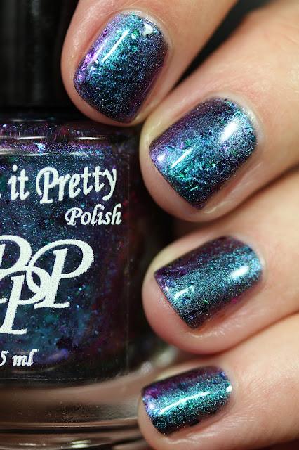 Paint It Pretty Polish Friday's Stone swatch alexandrite nail polish
