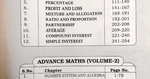 Rakesh Yadav Class Notes [Advance Maths] PDF Free - Knowledge Philic