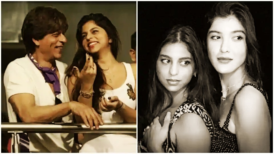 """Actors Gossips: Suhana Khan wishes dad Shah Rukh Khan, Best Friend Shanaya Kapoor with throwback pic on their birthdays """"55 and 21"""""""
