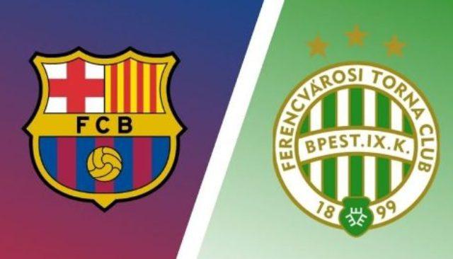مشاهدة مباراة برشلونة وفيرينكفاروسي بث مباشر