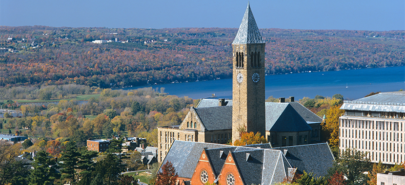 Cornell University in Ithaca
