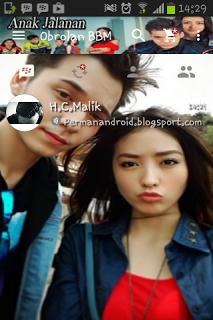 BBM Mod Boy and Reva Anak Jalanan v2.13.1.14 Apk