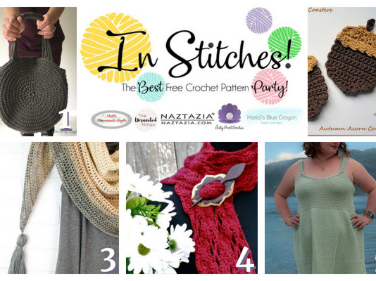 Best Free Crochet Patterns - In Stitches Link Up Party Week #18