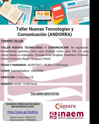 Nuevas Tecnologías y Comunicación