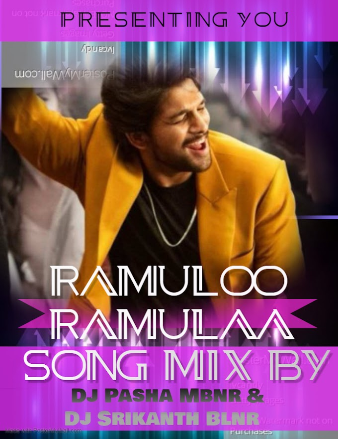 Ramuloo Ramulaa Song Mix By Dj Pasha Mbnr & Dj Srikanth Blnr(www.newdjsworld.in)