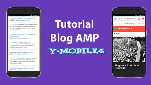 Contoh Blog AMP pada Mobile4
