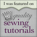 I was featured on Quality Sewing Tutorials