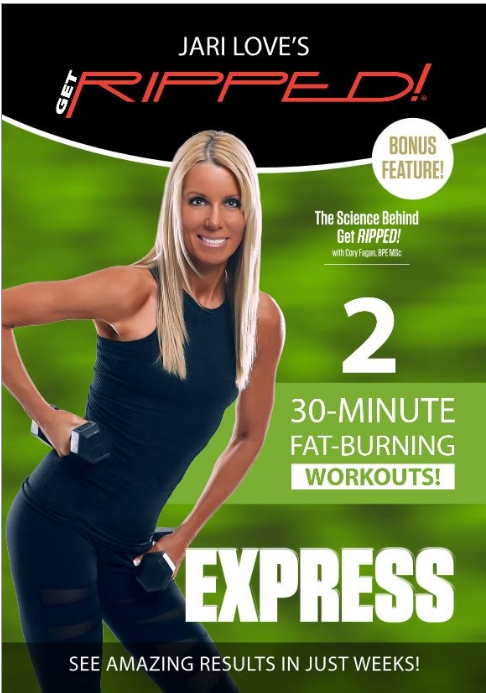 fitness for the rest of us jari loves get ripped express