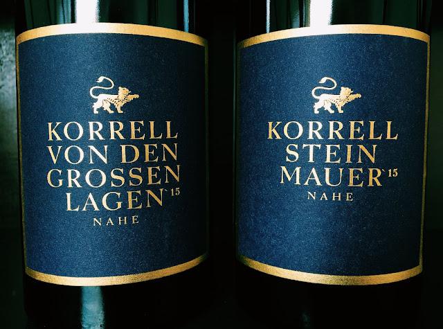 Premium-Weißweincuvees Weingut Korrell Johanneshof