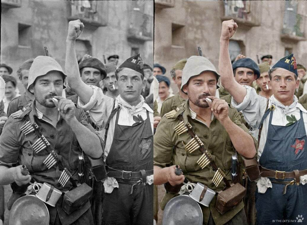 How to Colorize the Old War Photos