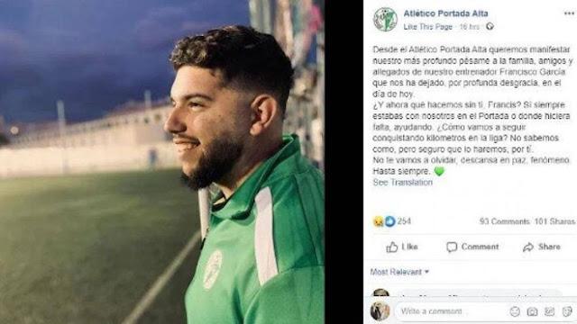 Sốc: HLV bóng đá đầu tiên tử vong vì virus Corona tại Tây Ban Nha