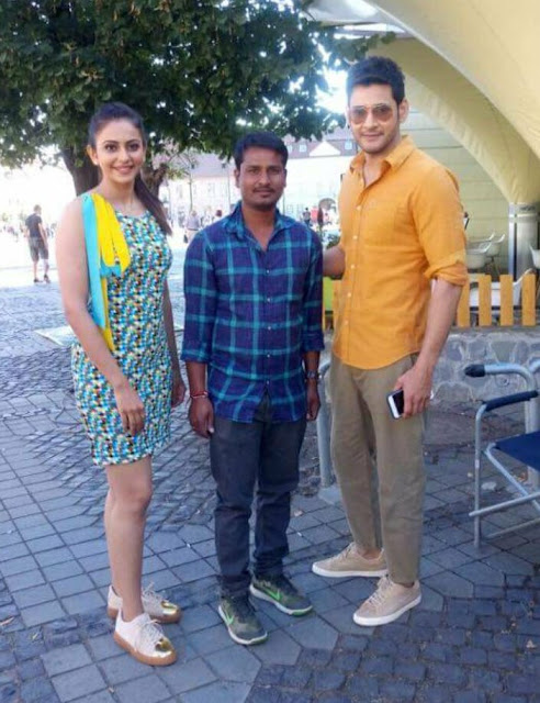 Mahesh babu 'Spyder' Movie Latest Photos