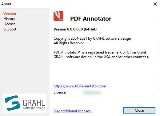 PDF Annotator 8.0.0.830