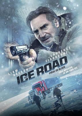 The Ice Road (2021) Englsih 5.1ch 720p | 480p HDRip ESub x264 850Mb | 300Mb