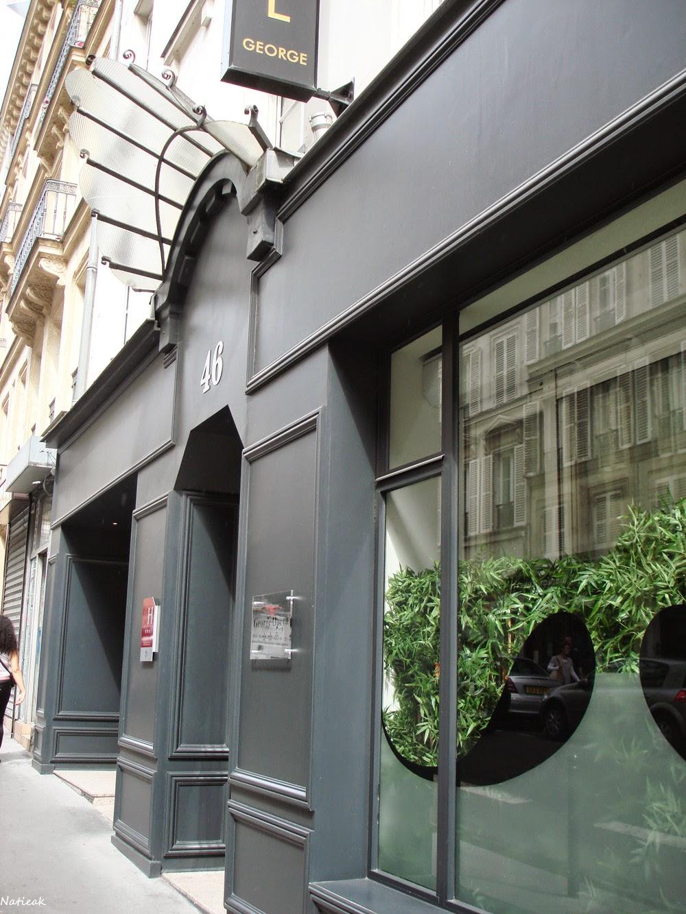 Hotel George Opéra situé dans le 9ème arrondissement de Paris
