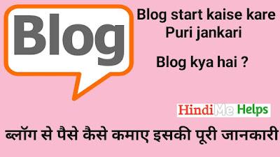 Blog suru kaise Kare