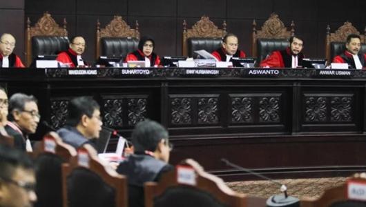 Hakim Hingga Karyawan MK Dikawal Ketat Jelang Putusan
