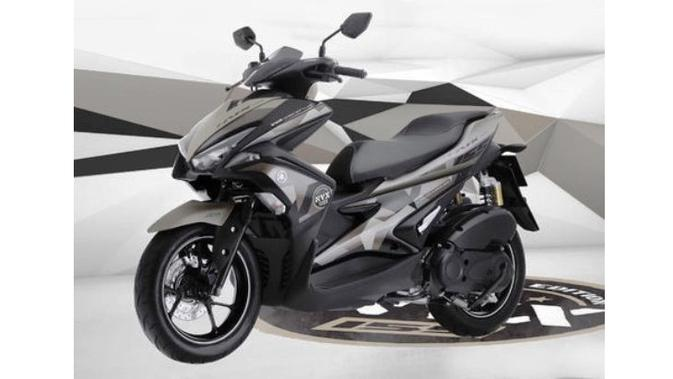 All New Aerox 155 Generasi Terbaru Skutik Sporty Yamaha