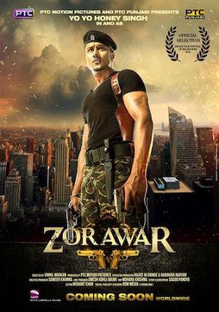 Zorawar 2016 DTHRip 400Mb Punjabi Movie 480p