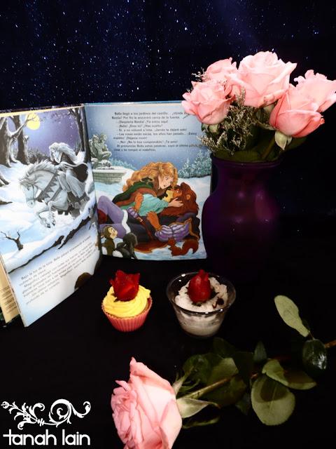 Cupcake Le Bella y la Bestia