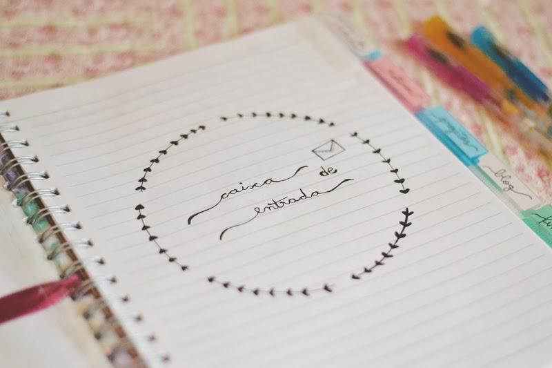 Meu Caderno De Organização 2014 O Mundo De Jess