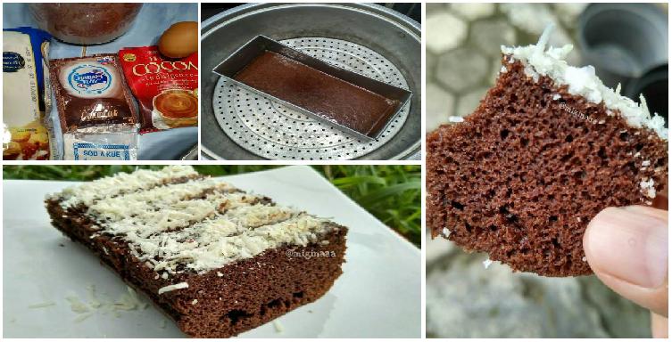 Resep Cake Kukus Simple: Resep Membuat Kue Brownies Kukus Serba 3 SDM Yang Simple