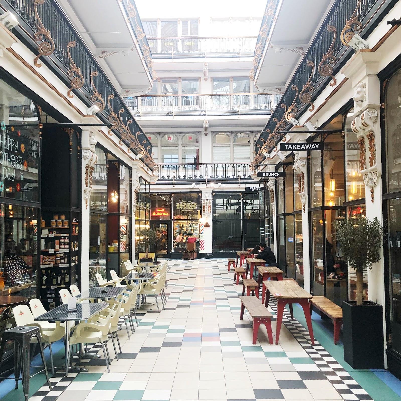Manchester  - Barton Arcade