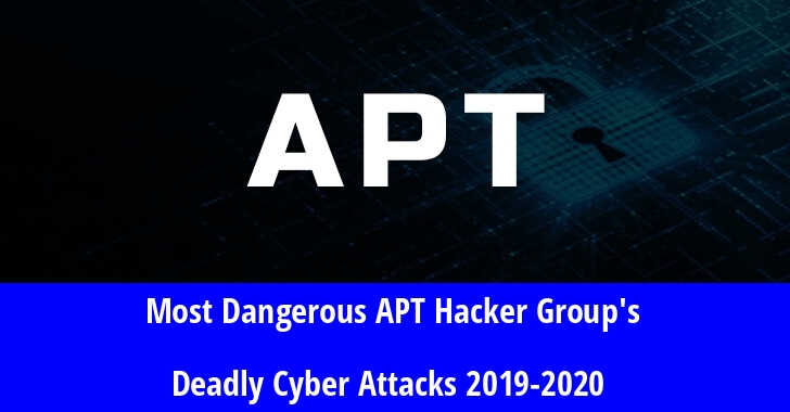 Most Dangerous APT Hacker Group's Deadly Cyber Attacks of the Year 2019-2020 – Complete Collection
