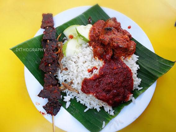 Wisata Kuliner di Kuala Lumpur, nasi lemak antarabangsa