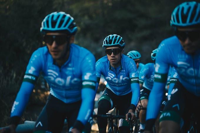 El Eolo - Kometa Cycling Team comienza a competir en Valencia