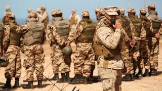 الجيش المغربي يعتقل عناصر من عصابات البوليساريو و يحجز سيارات رباعية الدفع