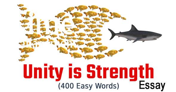 Unity is Strength Essay